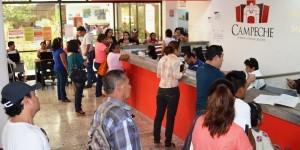 Ingresaran a Finanzas de Campeche 63 millones de pesos por refrendo vehicular