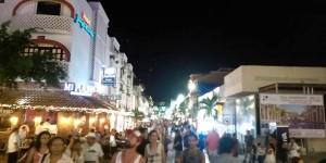 Continúa en la Riviera Maya gran afluencia de turismo