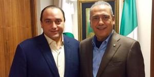 Coinciden Roberto Borge y Manlio Beltrones, llega el PRI unido y fortalecido al proceso electoral