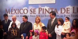 """Presentan disco, """"México se pinta de luz"""" para dar la bienvenida al Papa Francisco"""