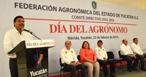Reconocen aportación de agrónomos al desarrollo del campo yucateco