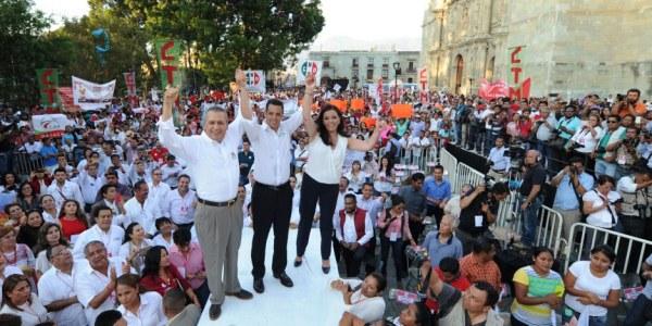 Alejandro Murat candidato por Oaxaca
