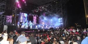 Los Ángeles Azules ponen a bailar en el Carnaval de Veracruz 2016