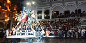 Con la Quema del Mal Humor, arrancó el Carnaval de Veracruz 2016