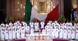 Basilica de Guadalupe misa del Papa Fco