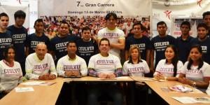 Presentan Universidades séptima carrera Juntos contra la obesidad en Veracruz