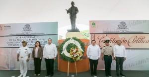 Actuar con determinación y unidad para superar retos actuales en Yucatán: Henry Sosa