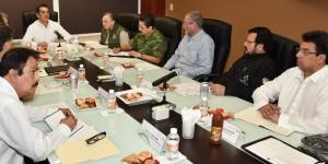 Gobierno federal y estatal coordinan acciones para fortalecer seguridad pública en Campeche