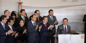 La Constitución sigue vigente por encima de cualquier bandera partidista: César Camacho