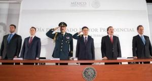 Reconoce Enrique Peña Nieto labor del Estado Mayor Presidencial