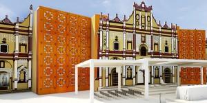 Listo San Cristóbal de las Casas para recibir a 60 mil personas a misa del Papa