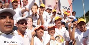 Con Gaudiano se atenderán las demandas de los jóvenes en Centro: Sergio Leyva