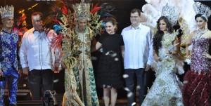 Priscila I y Tomás I, los reyes del Carnaval de Veracruz 2016