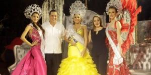 Coronan a Reyes del Carnaval Coatza 2016; lleno de Yuridia en el Palenque