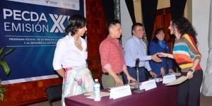 Entrega IVEC estímulos a la Creación y al Desarrollo Artístico de Veracruz