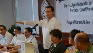 Rafael Eugenio Castro asume el cargo de presidente municipal de Solidaridad