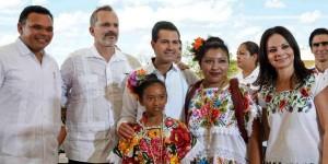 El Gobierno de la República hace realidad sueños de niños y niñas: Enrique Peña Nieto