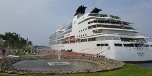 Arribó a Puerto Chiapas el crucero Seabourn Odyssey