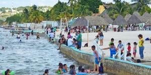 Playas de Campeche limpias para Semana Santa 2016