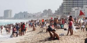 Refuerzan vigilancia en playas de Cancún