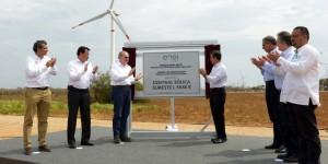 Inauguró el Presidente Enrique Peña Nieto la Segunda Fase de la Central Eólica Sureste I en Oaxaca