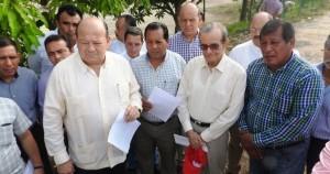 Supervisan Peralta y Ojeda obras en drenes para evitar inundaciones