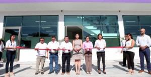 Inaugura Mariana Zorrilla de Borge el Palacio Municipal de Puerto Morelos