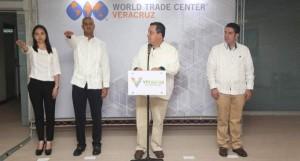 Rinde protesta Director del World Trade Center Veracruz