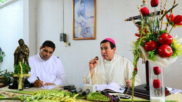 Domigo de ramos Obispo de Tabasco