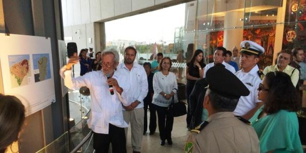 Exposicion agua sagrada mundo maya