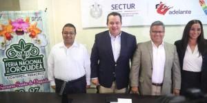 Celebrará Coatepec del 19 a 27 de marzo, la Feria Nacional de la Orquídea