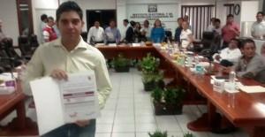 Constancia a regidores de representación proporcional entrego IEPC Tabasco