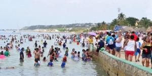 Aumenta la afluencia de visitantes a Playa Bonita en Semana Santa 2016