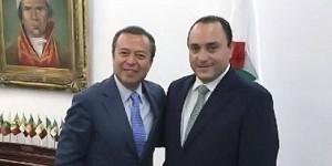 Cordial reunión del gobernador Roberto Borge y el presidente de la JUCOPO Cesar Camacho Quiroz