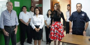 Presentan a nueva directora de administración de la policía estatal preventiva en Quintana Roo