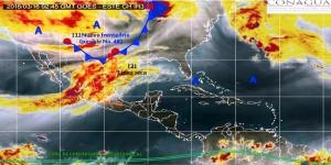 Ambiente caluroso en el Sureste, bajas temperaturas en el norte de México: SMN