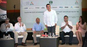 Buscamos empresarios que inviertan para mejorar la vida de los campechanos: Alejandro Moreno Cárdenas