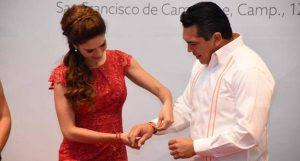 Convoca Moreno Cárdenas a aportar y ser promotores de la Cruz Roja Mexicana