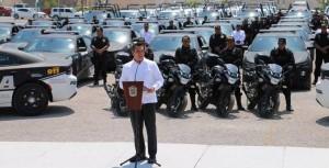 Gobernador entrega 89 modernas patrullas para fortalecer la seguridad de Campeche