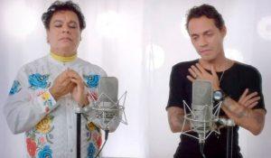 Juan Gabriel a dúo con Marc Anthony