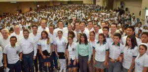Entregan 37 mil números de Seguridad social del IMSS a jóvenes estudiantes campechanos