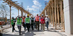 En tiempo y forma, avances del nuevo Hospital Materno Infantil en Yucatán