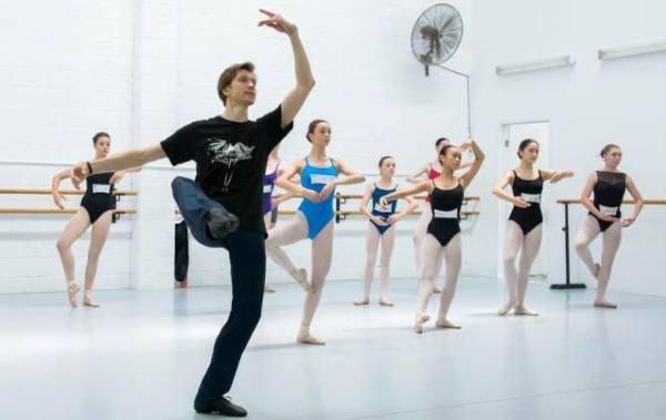 Bailarines de Moscu en merida