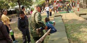 El 37/o Batallón de Infantería en Villahermosa abrió sus puertas, «Programa de Paseos Dominicales»