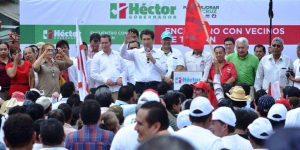 Con obras de desarrollo, voy a generar más inversión para Veracruz: Héctor Yunes Landa
