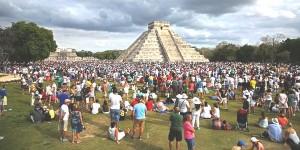 Arriban funcionarios de la organización New7Wonders a Chichén Itzá