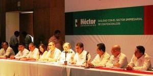 Yo no daré espacio a la delincuencia en Veracruz: Héctor Yunes Landa