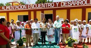 Comunidad en Yucatán se organiza para recuperar Espacio de Alimentación