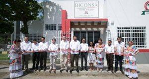 Abasto de productos básicos a bajo costo es una garantía en Yucatán: DICONSA