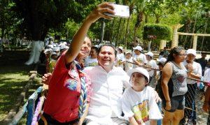 La niñez yucateca, eje de la política social